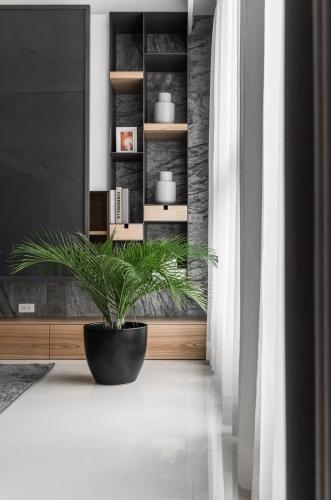 木色+灰色+黑色,太有品味了!
